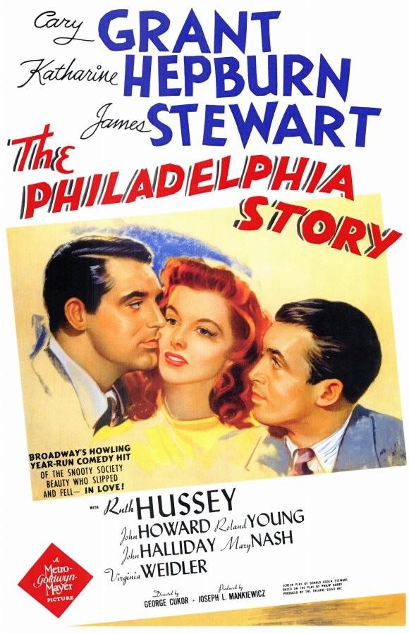 "Poster to the movie ""The Philadelphia Story"". 1940 // Афіша до кінофільму «Філадельфійська історія». 1940"