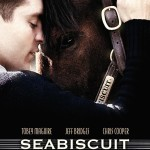 "Poster to the movie ""Seabiscuit"" (2003, USA). Directed by Gary Ross // Афіша до кінофільму «Сухар» (2003, США). Режисер Гері Росс"
