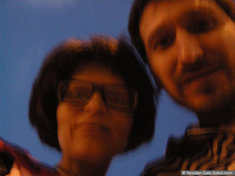 YAROSLAV AND GALA SOBOL April self-portrait – 2. 2013 // Квітневий автопортрет – 2. 2013