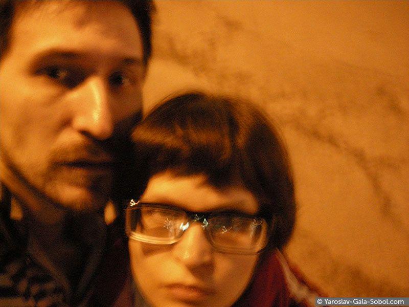 YAROSLAV AND GALA SOBOL  April self-portrait – 3. 2013 // Квітневий автопортрет – 3. 2013