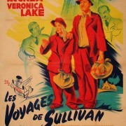"Poster to the movie ""Sullivan's Travels"" (1941, USA)"