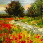 Poppy fields - Detail